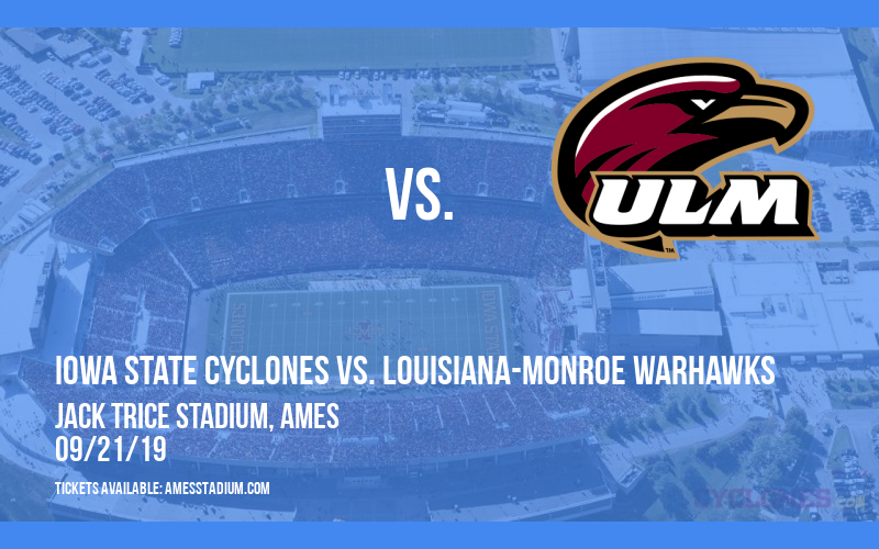 Iowa State Cyclones vs. Louisiana-Monroe Warhawks at Jack Trice Stadium