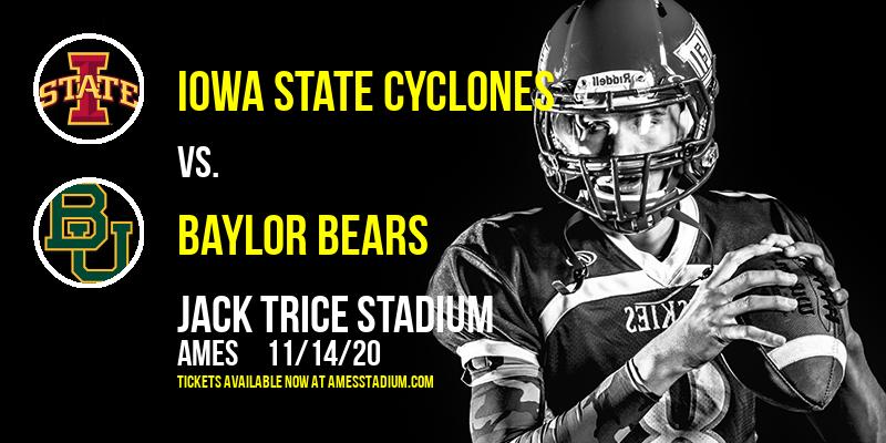 Iowa State Cyclones vs. Baylor Bears at Jack Trice Stadium