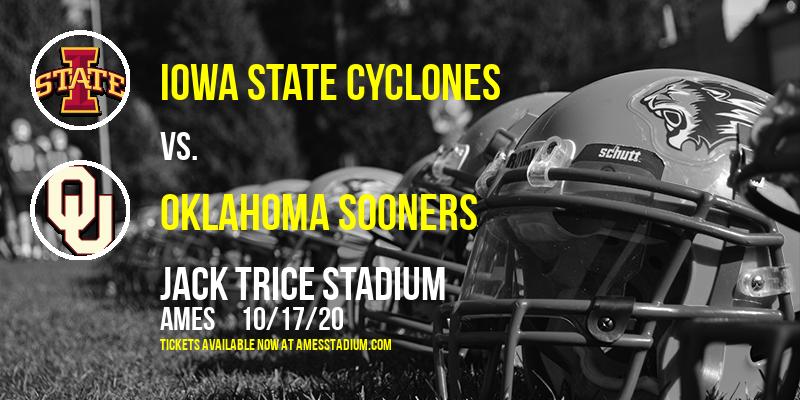 Iowa State Cyclones vs. Oklahoma Sooners at Jack Trice Stadium