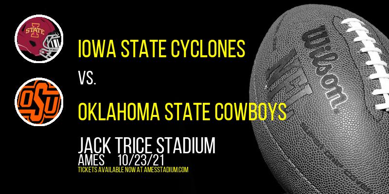 Iowa State Cyclones vs. Oklahoma State Cowboys at Jack Trice Stadium