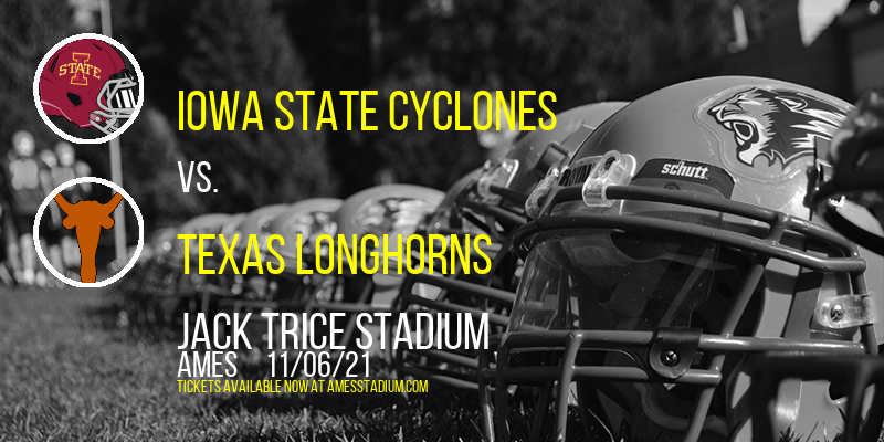 Iowa State Cyclones vs. Texas Longhorns at Jack Trice Stadium